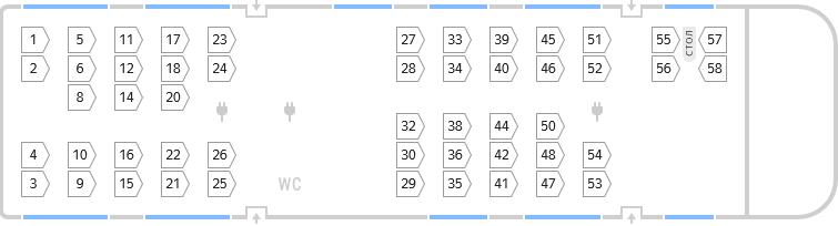 Купейный вагон схема расположения мест